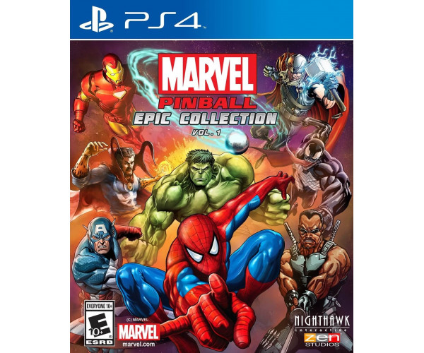 MARVEL PINBALL GREATEST HITS VOL.1 - PS4 GAME