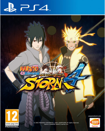 NARUTO SHIPPUDEN ULTIMATE NINJA STORM 4 - PS4 GAME
