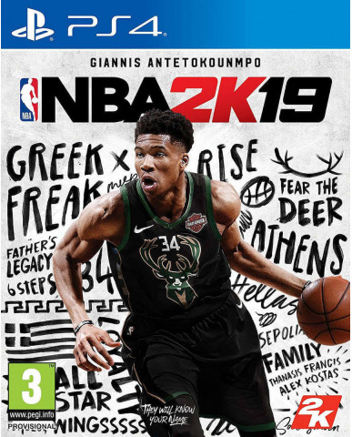NBA 2K19 – PS4 NEW GAME