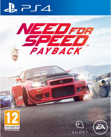 NEED FOR SPEED PAYBACK USED - PS4 GAME