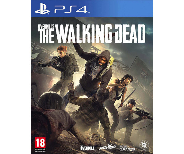 OVERKILL'S THE WALKING DEAD - PS4 GAME