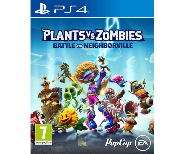 PLANTS VS. ZOMBIES BATTLE FOR NEIGHBORVILLE - PS4 NEW GAME