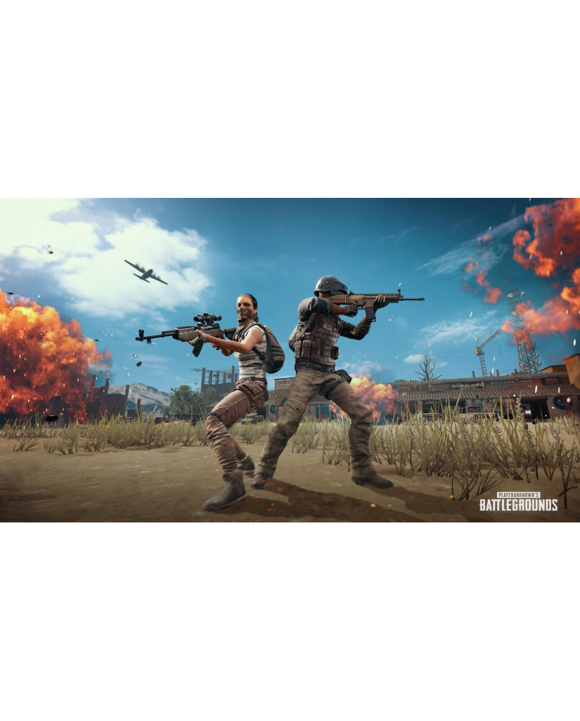 PLAYERUNKNOWN'S BATTLEGROUNDS (PUBG) - PS4 GAME