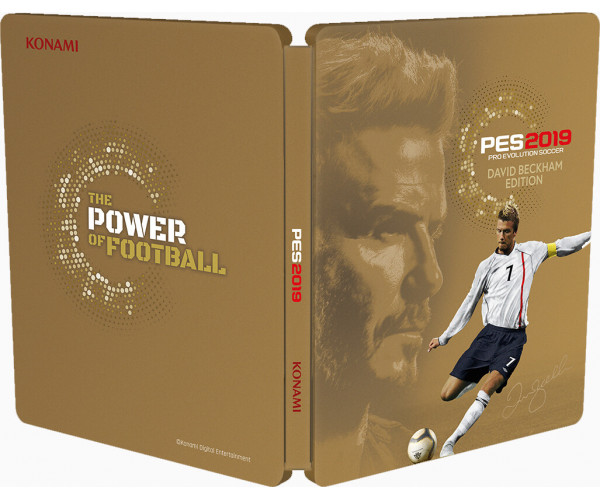 PRO EVOLUTION SOCCER 2019 DAVID BECKHAM STEELBOOK EDITION ΠΕΡΙΛΑΜΒΑΝΕΙ ΕΛΛΗΝΙΚΑ - PS4 NEW GAME