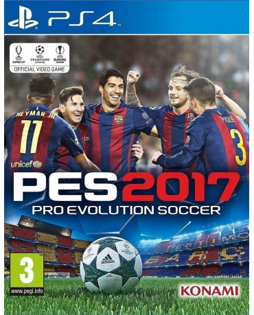 PRO EVOLUTION SOCCER 2017 - PS4 GAME