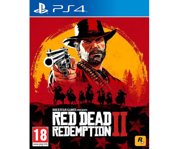 RED DEAD REDEMPTION 2 - PS4 NEW GAME