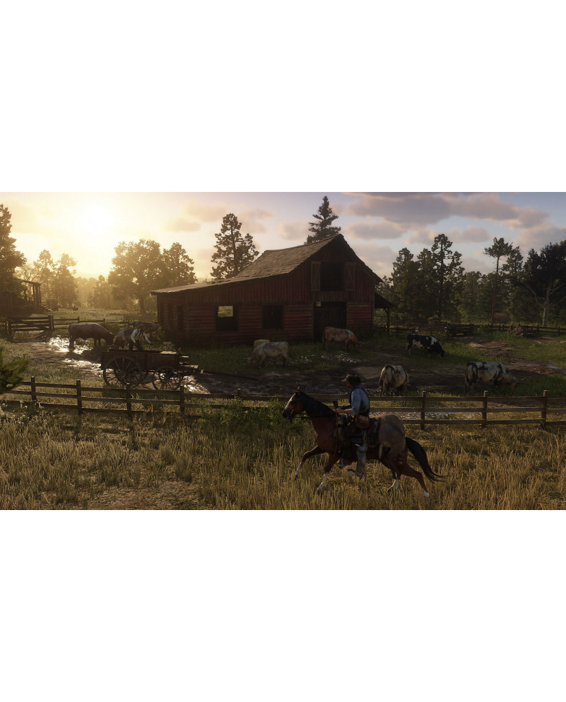RED DEAD REDEMPTION 2 DAY ONE EDITION - PS4 NEW GAME