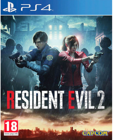 RESIDENT EVIL 2 REMAKE - PS4 NEW GAME