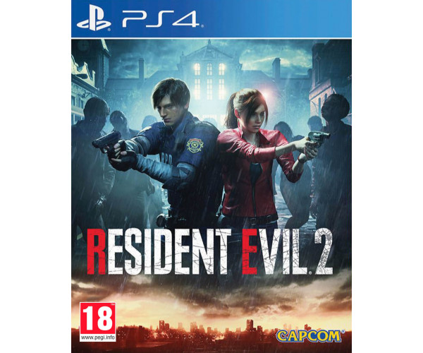 RESIDENT EVIL 2 - PS4 NEW GAME