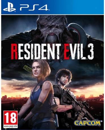 RESIDENT EVIL 3 - PS4 NEW GAME