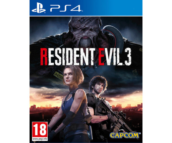 RESIDENT EVIL 3 - PS4 NEW GAME