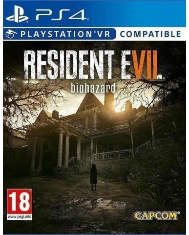 RESIDENT EVIL 7 BIOHAZARD - PS4 GAME