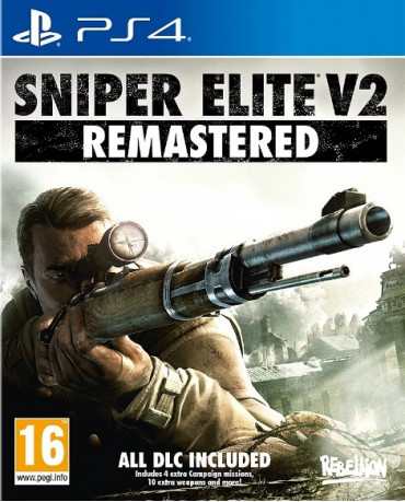 SNIPER ELITE V2 REMASTERED - PS4 GAME