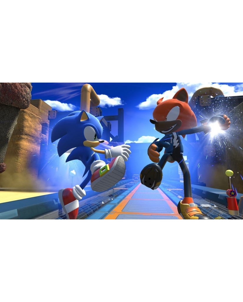 SONIC FORCES BONUS EDITION + ΔΩΡΟ 4 ART CARDS - PS4 GAME