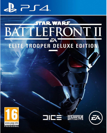 STAR WARS BATTLEFRONT II ELITE TROOPER DELUXE EDITION - PS4 GAME