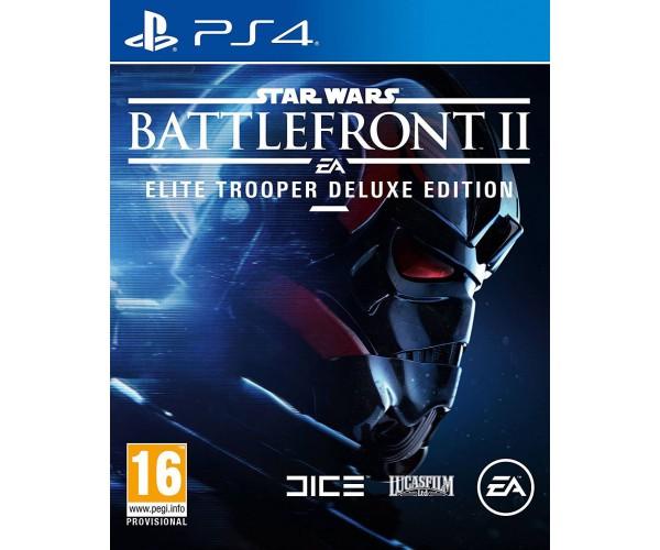 STAR WARS BATTLEFRONT II ELITE TROOPER DELUXE EDITION - PS4 GAME