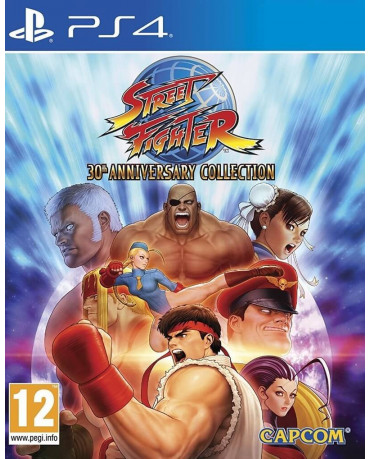 STREET FIGHTER 30th ANNIVERSARY COLLECTION - PS4 GAME