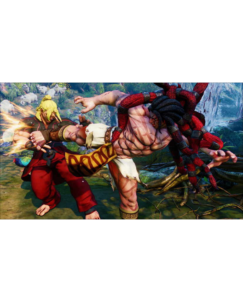 STREET FIGHTER V - PS4 GAME