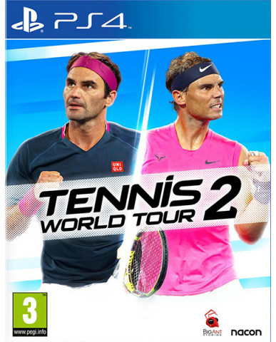 TENNIS WORLD TOUR 2 - PS4 GAME
