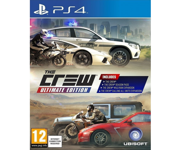 THE CREW ULTIMATE EDITION – PS4 GAME