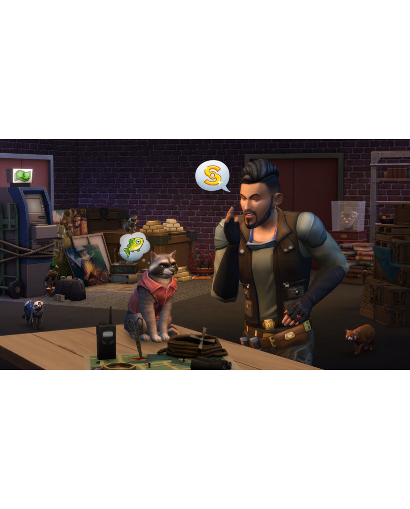 THE SIMS 4 PLUS CATS & DOGS BUNDLE – PS4 GAME