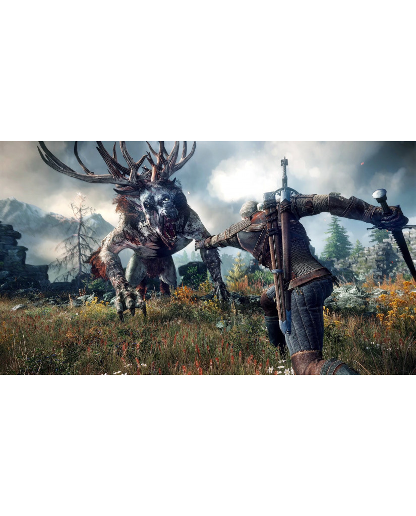 THE WITCHER 3 WILD HUNT GAME OF THE YEAR EDITION - PS4 GAME