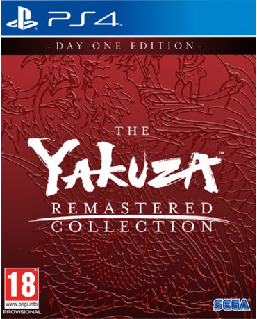 THE YAKUZA REMASTERED COLLECTION DAY ONE EDITION - PS4 NEW GAME