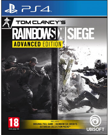 TOM CLANCY'S RAINBOW SIX SIEGE ADVANCED EDITION - PS4 NEW GAME