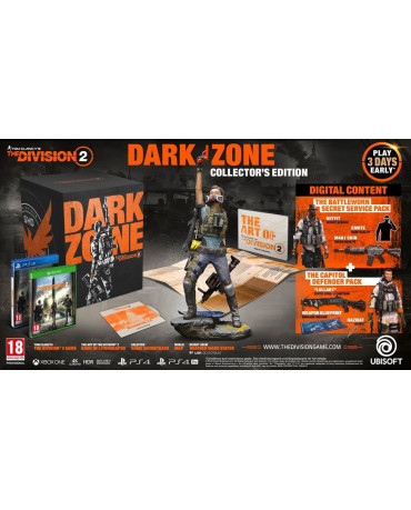 TOM CLANCY'S THE DIVISION 2 DARK ZONE COLLECTOR'S EDITION - PS4 GAME