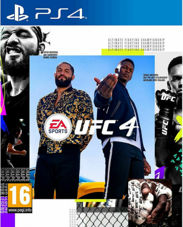 UFC 4 - PS4 NEW GAME
