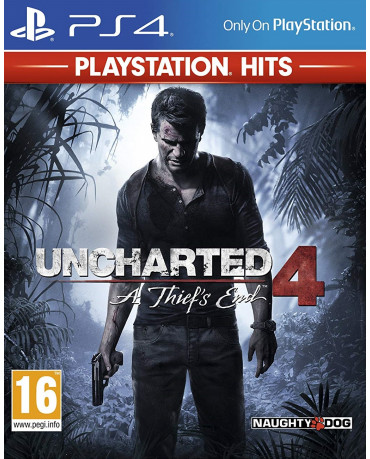 UNCHARTED 4: A THIEF'S END PLAYSTATION HITS ΜΕ ΕΛΛΗΝΙΚΟΥΣ ΥΠΟΤΙΤΛΟΥΣ - PS4 GAME