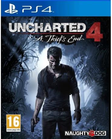 UNCHARTED 4: A THIEF'S END ΜΕ ΕΛΛΗΝΙΚΟΥΣ ΥΠΟΤΙΤΛΟΥΣ - PS4 GAME