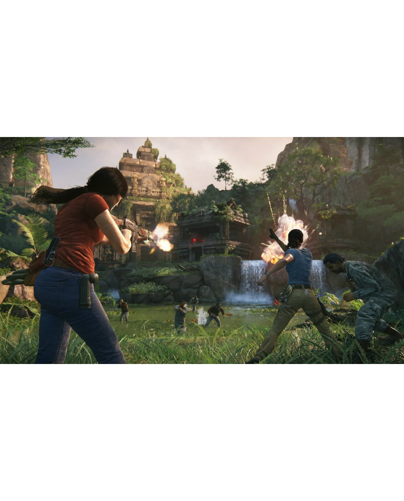 UNCHARTED THE LOST LEGACY ΠΕΡΙΛΑΜΒΑΝΕΙ ΕΛΛΗΝΙΚΑ - PS4 GAME
