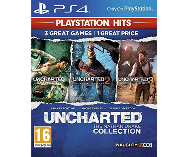 UNCHARTED THE NATHAN DRAKE COLLECTION (HITS) ΠΕΡΙΛΑΜΒΑΝΕΙ ΕΛΛΗΝΙΚΑ - PS4 GAME