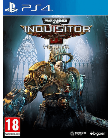 WARHAMMER 40000 INQUISITOR MARTYR – PS4 GAME