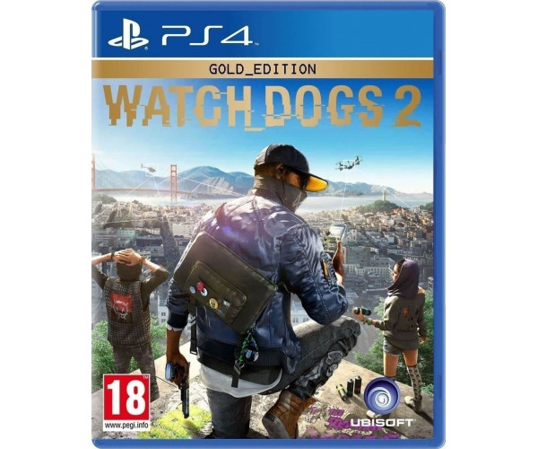 WATCH DOGS 2 GOLD EDITION (GAME & SEASON PASS) – PS4 GAME