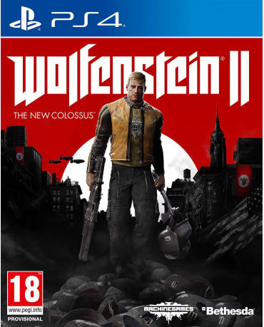 WOLFENSTEIN II: THE NEW COLOSSUS + ΔΩΡΟ ΤΣΑΝΤΑ - PS4 GAME