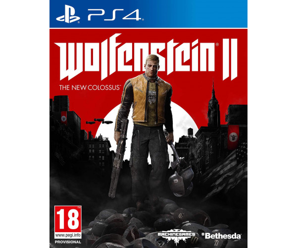 WOLFENSTEIN II: THE NEW COLOSSUS - PS4 GAME