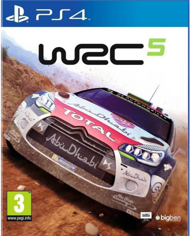 WRC 5 USED - PS4 GAME