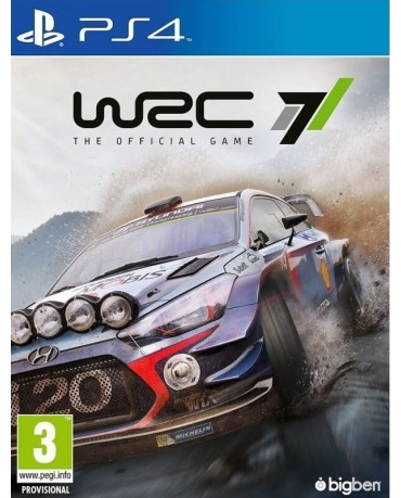 WRC 7 - PS4 GAME