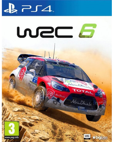 WRC 6 - PS4 GAME