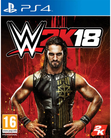 WWE 2K18 - PS4 GAME