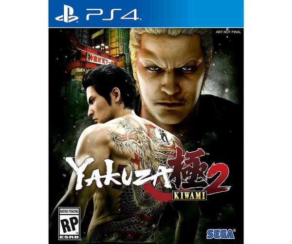 YAKUZA KIWAMI 2 - PS4 GAME