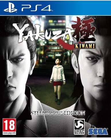 YAKUZA KIWAMI STEELBOOK EDITION - PS4 GAME