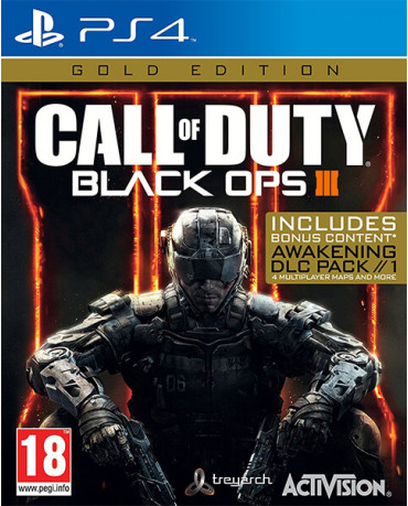 CALL OF DUTY BLACK OPS III GOLD EDITION INCLUDES BONUS CONTENT - PS4 GAME