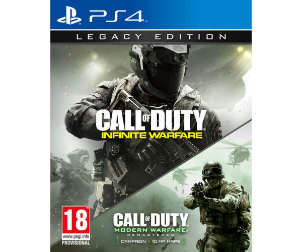 CALL OF DUTY INFINITE WARFARE LEGACY EDITION + TERMINAL BONUS MAP - PS4 GAME