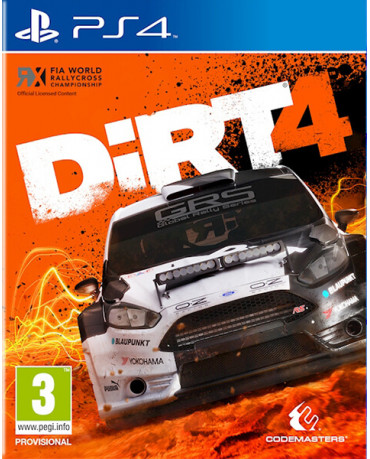 DIRT 4 - PS4 GAME
