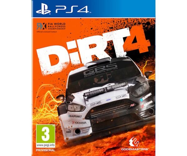 DIRT 4 - PS4 GAME