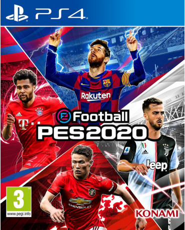 eFootball Pro Evolution Soccer 2020 (PES 2020) ΠΕΡΙΛΑΜΒΑΝΕΙ ΕΛΛΗΝΙΚΑ - PS4 NEW GAME