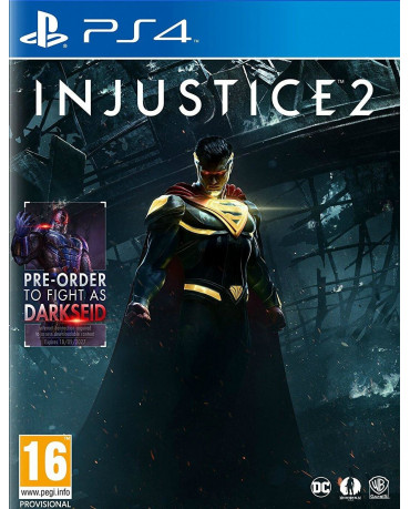 INJUSTICE 2 INCLUDES DARKSEID - PS4 GAME